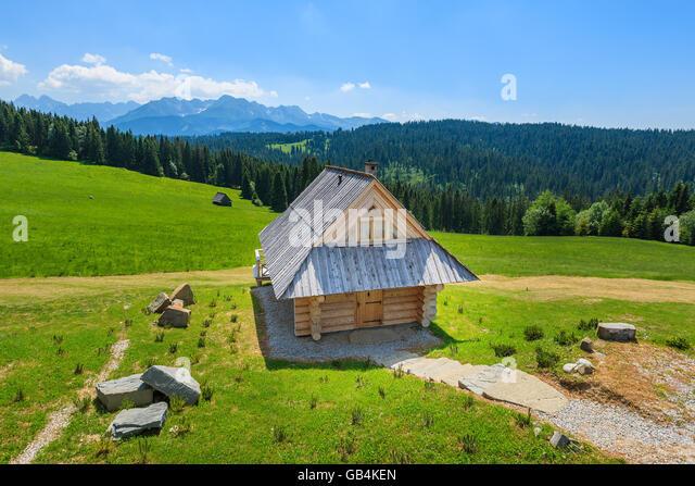 House in zakopane poland stock photos house in zakopane poland stock images alamy - Traditional polish houses wood mastership ...