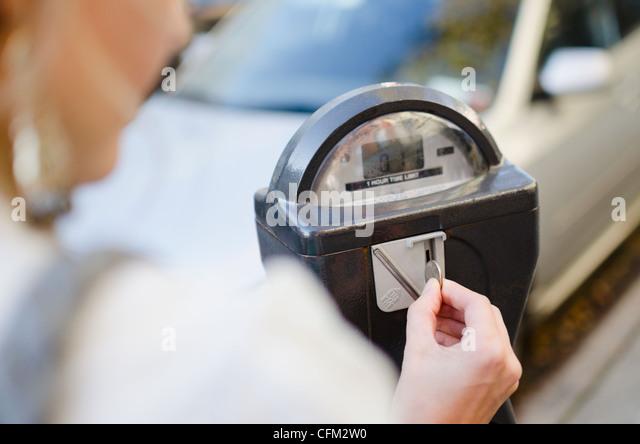 Parking Meter New York Stock Photos Amp Parking Meter New