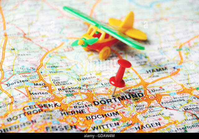 Geography Travel Germany Dortmund Stock Photos Geography Travel - Germany map dortmund