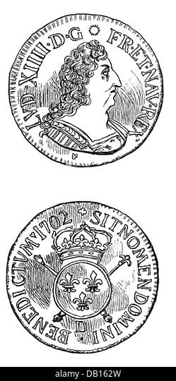 Louis Xiv Portrait King Louis Stock Photos & Louis Xiv Portrait ...