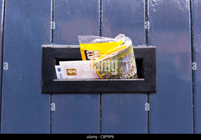 Mail box letters stock photos mail box letters stock for 18 and out the door
