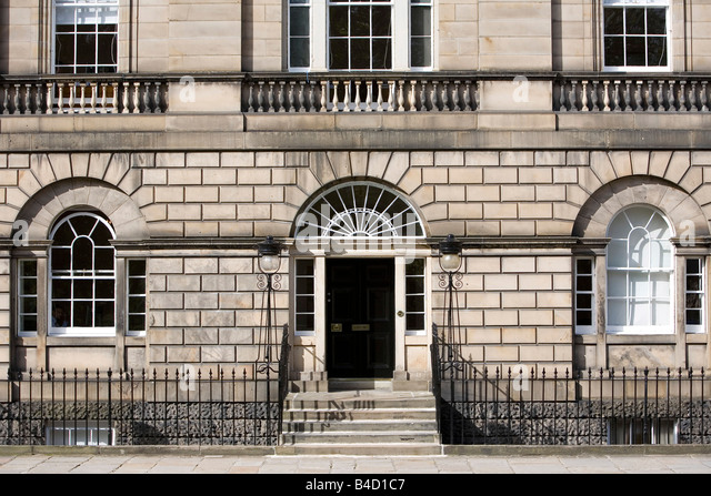 Georgian House Front Elevation : Georgian house front door steps stock photos