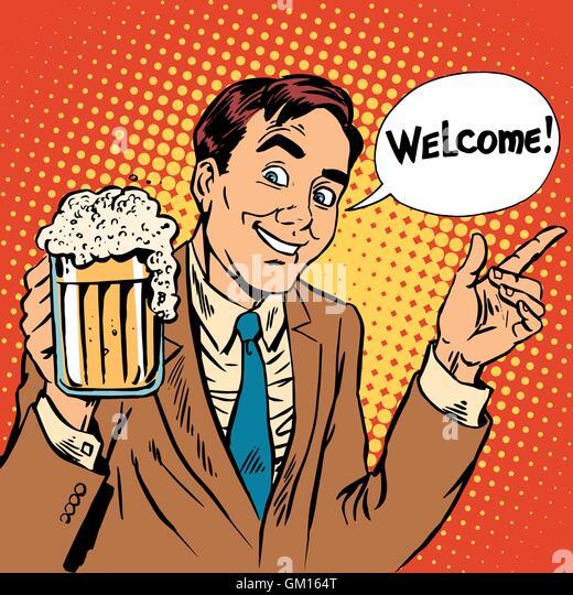 Beer Mug Cartoon Foam Stock Photos & Beer Mug Cartoon Foam ...