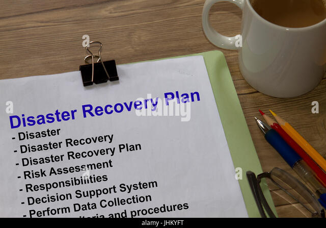 Disaster recovery planning in banking sector