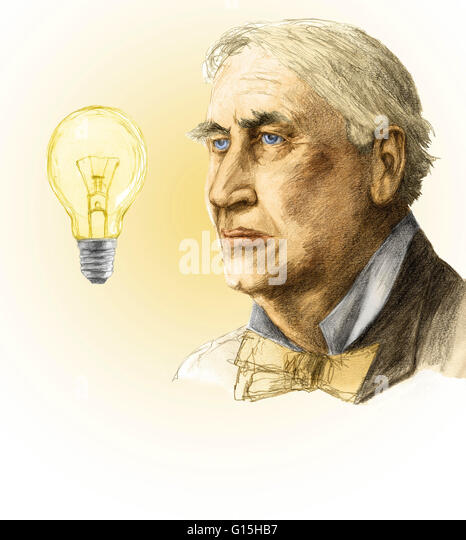 a biography of thomas alva edison an inventor A brief biography of thomas edison thomas he answered, genius is hard work, stick-to-it-iveness, and common sense thomas alva edison was born february 11 laboratory buildings glowed with electric light while the wizard and his muckers turned edison's dreams into inventions.