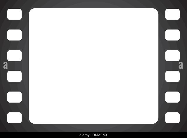 vector film frame stock image