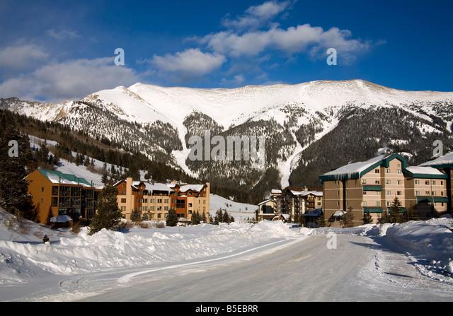 Nice Copper Mountain Ski Resort, Rocky Mountains, Colorado, USA, North America    Stock