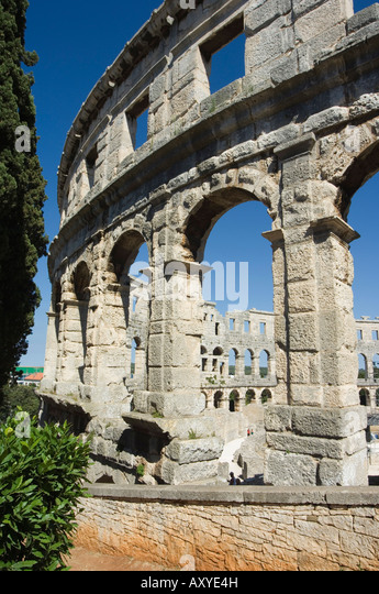 1st century stock photos 1st century stock images alamy the 1st century roman amphitheatre columns and arched walls pula istria croatia publicscrutiny Image collections