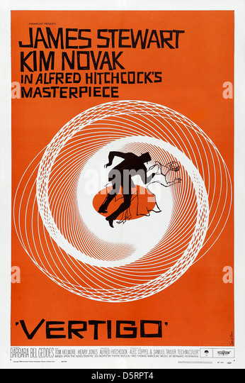 """film review vertigo 1958 Initially dismissed by critics, later praised as one of hitchcock's best films, """"vertigo """" has an eerie feel throughout (enhanced by special effects and by berhard."""