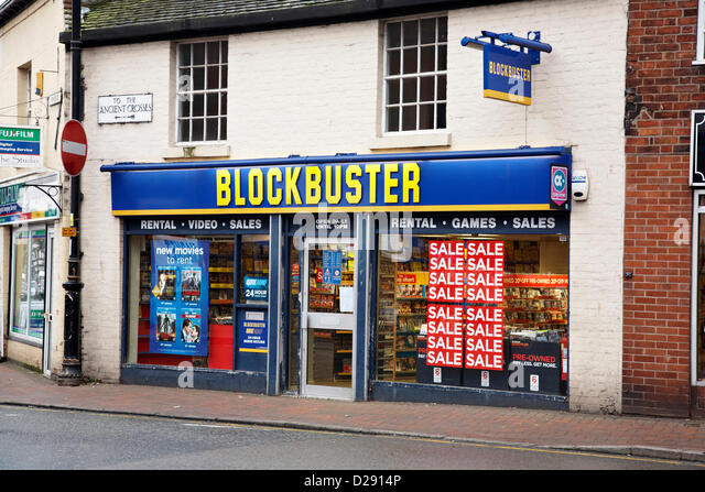 new blockbuster image The struggling video store chain has only a few surviving locations, including one  with a sense of humor.