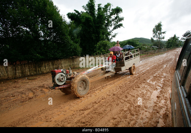 Over The Road Tractors : Asia tractor stock photos images alamy