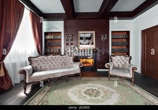library luxury home stock photos library luxury home stock images alamy. Black Bedroom Furniture Sets. Home Design Ideas
