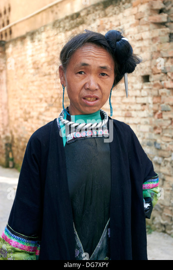 rongjiang women Jidao miao village is on our way to rongjiang,  we will appreciate the traditional miao women's short skirt and there waterproof granaries at the foot of leigong.