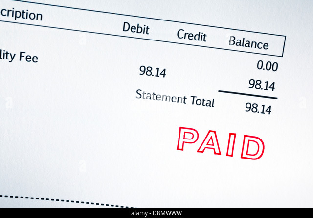 Invoice Paid Stamp Close Up Invoice Stock Photos Invoice Paid - Invoice paid stamp