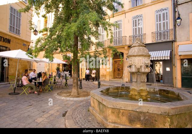 Restaurant Place Des Trois Ormeaux Aix En Provence
