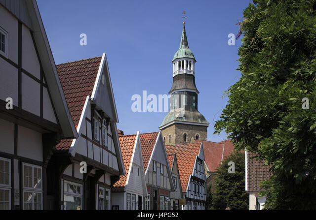 Oldenburg Cathedral Country Stock Photos Oldenburg Cathedral - Quakenbruck germany map