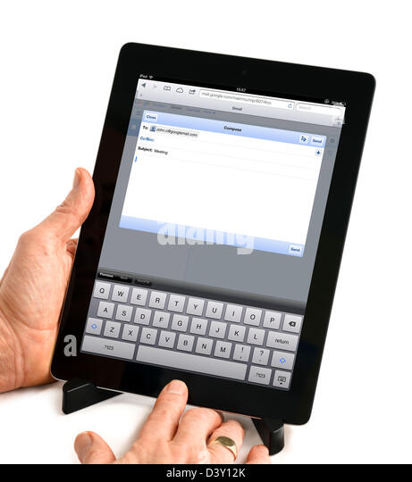 how to send an email on gmail on ipad