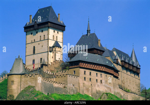 Karlstejn stock photos karlstejn stock images alamy for Where is prague near