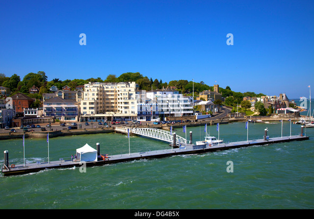 Cowes United Kingdom  City pictures : Cowes from the sea, Cowes, Isle of Wight, England, United Kingdom ...