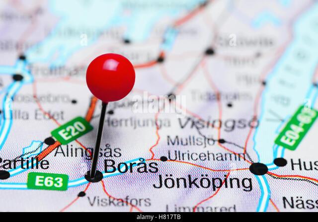 Boras Sweden Stock Photos Boras Sweden Stock Images Alamy - Sweden map boras
