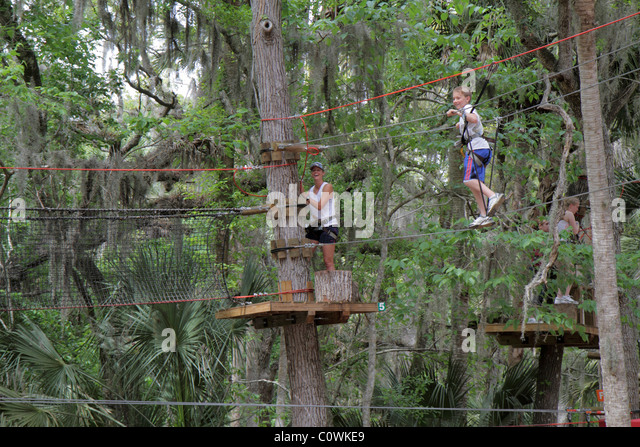 Rope Bridge Aerial Stock Photos Rope Bridge Aerial Stock Images Alamy