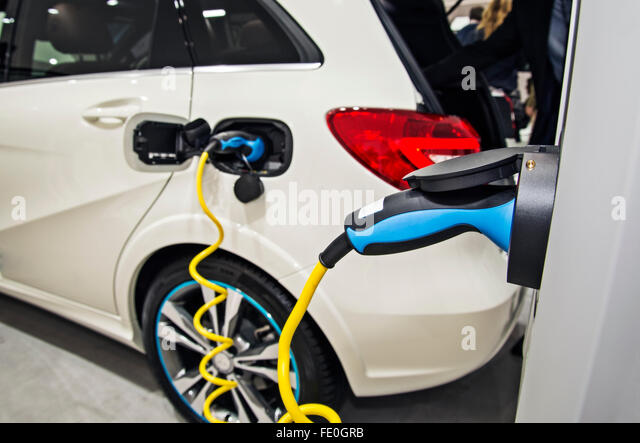 how to open an electric car charging station