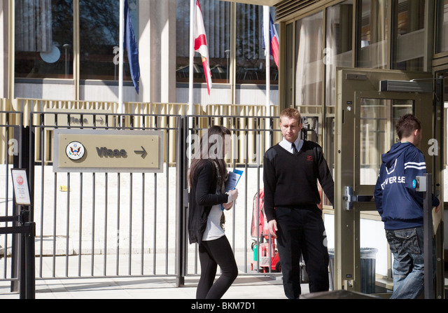 Security For British Teenagers Applying For Visas The Us Embassy Grosvenor Square London