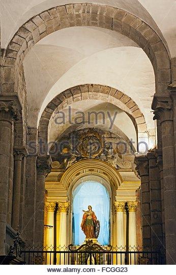 Altar cathedral santiago de compostela stock photos - Interior santiago de compostela ...