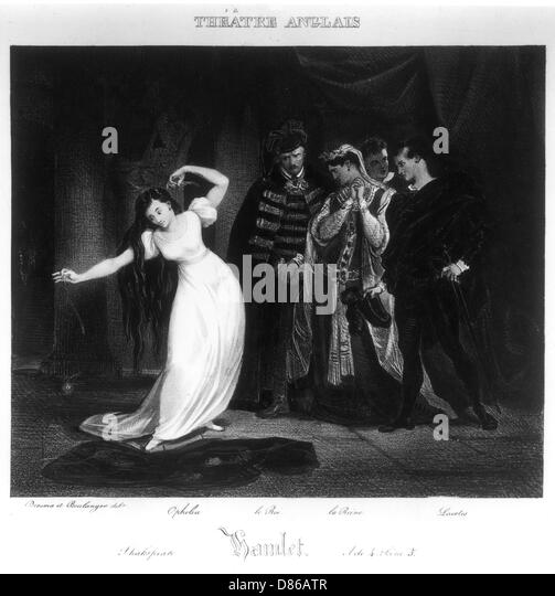 "character analysis of ophelia in william shakespeares play hamlet Analysis of hamlet's morality (corruption in william shakespeare's hamlet so was his moral character however, shakespeare plays with the idea of ""what."