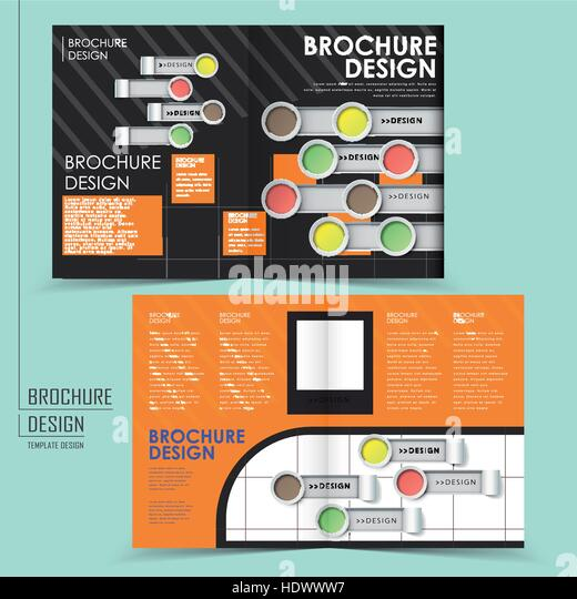 Half Fold Brochure Stock Photos & Half Fold Brochure Stock Images