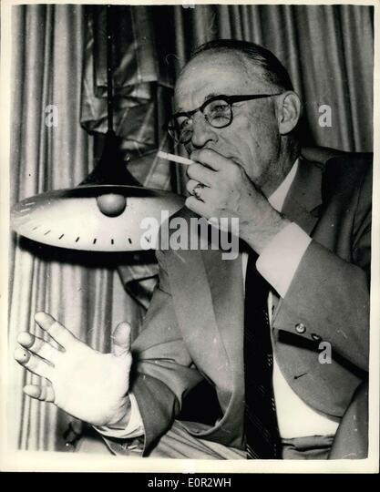 Oct 19 1957 United States Senator Atomic Commission Member Arrives In Istambul