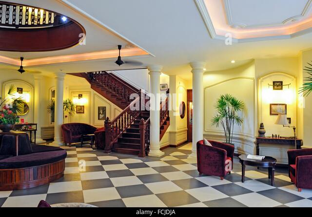 Five star hotel lobby stock photos five star hotel lobby for Luang prabang hotels 5 star