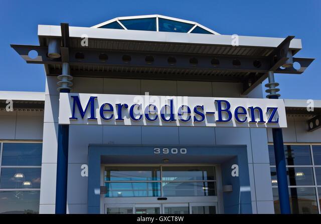 Mercedes benz manufacturer stock photos mercedes benz for Mercedes benz dealership indianapolis