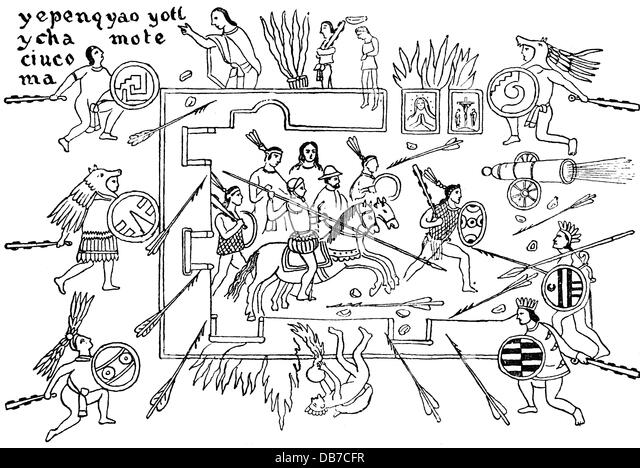 spanish conquest of mexico 1519 1521 spaniards under hernan cortes are besieged in the palace
