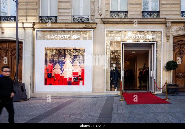 lacoste store stock photos lacoste store stock images alamy. Black Bedroom Furniture Sets. Home Design Ideas