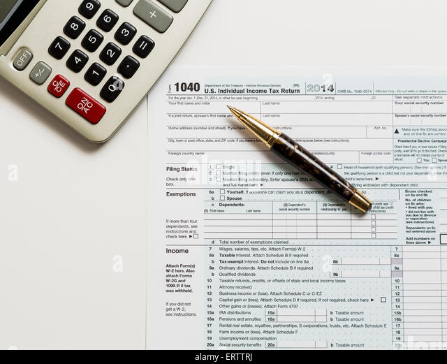 Irs Form Stock Photos Irs Form Stock Images Alamy