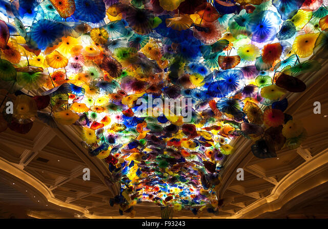 Ceiling art in bellagio hotel casino mafia controlled gambling
