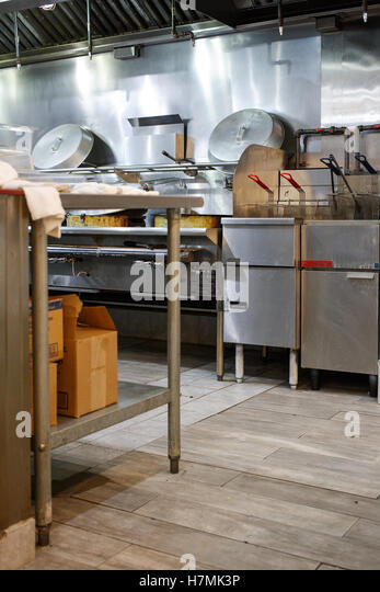 Restaurant Kitchen View chinatown restaurant kitchen stock photos & chinatown restaurant