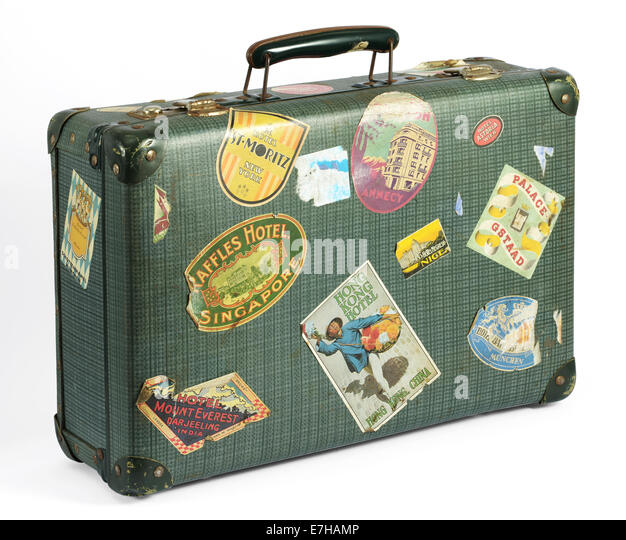 Vintage Suitcase Stock Photos & Vintage Suitcase Stock Images - Alamy