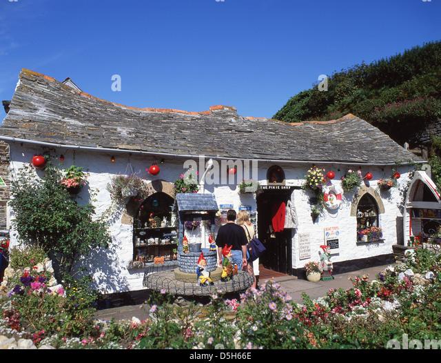 Boscastle United Kingdom  city photos gallery : ... Pixie Shop, Boscastle, Cornwall, England, United Kingdom Stock Image