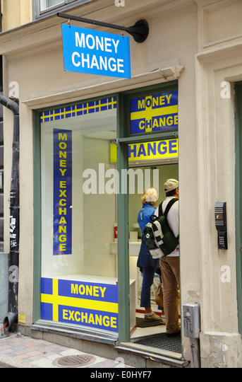 Money exchange in sweden
