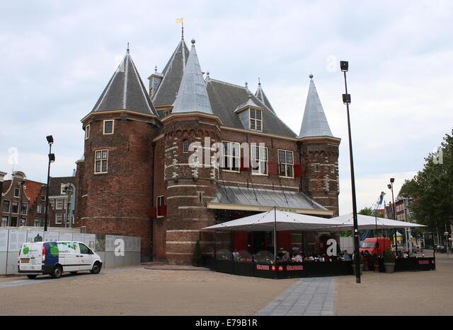 City and 15th century amsterdam