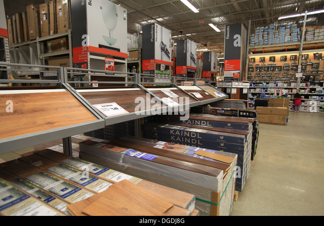 Warehouse renovation stock photos warehouse renovation for Laminate flooring displays