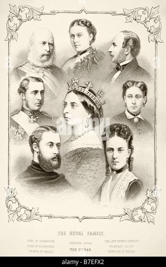 Queen Victoria Family