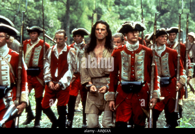 the colonist indians and english in the movie the last of mohicans Gwu center for the study of public culture and public history wilson project teaching guide last of the mohicans american colonies (the french and indian.