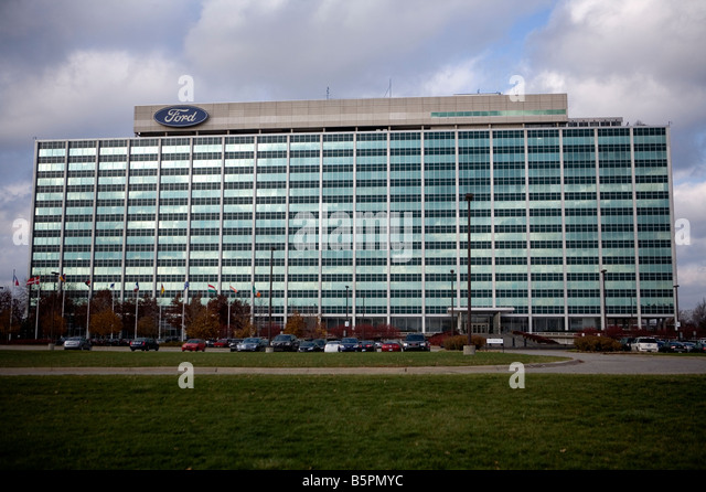Headquarters Ford Motor Company In Stock Photos