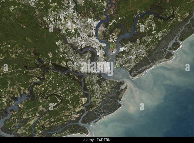 Map Of Charleston Stock Photos Map Of Charleston Stock Images