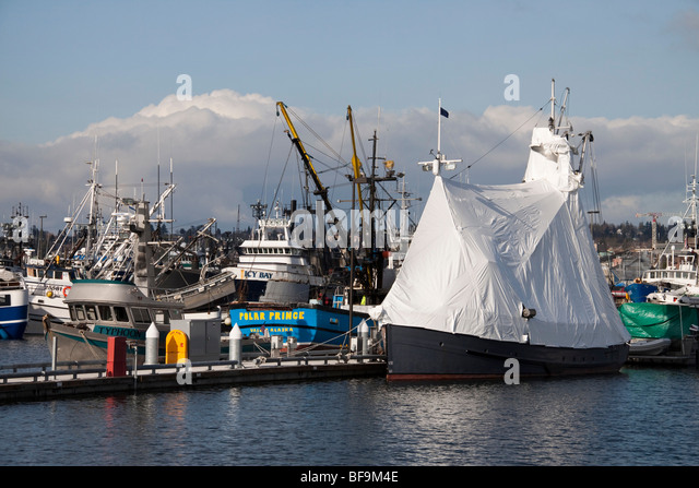 Ballard seattle stock photos ballard seattle stock for Fishing in seattle washington