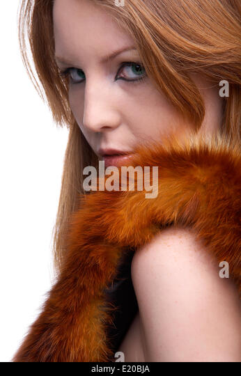 Rotblonde Haare Stock Photos Rotblonde Haare Stock Images Alamy