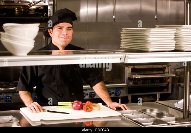 Work Station Kitchen Stock Photos Work Station Kitchen